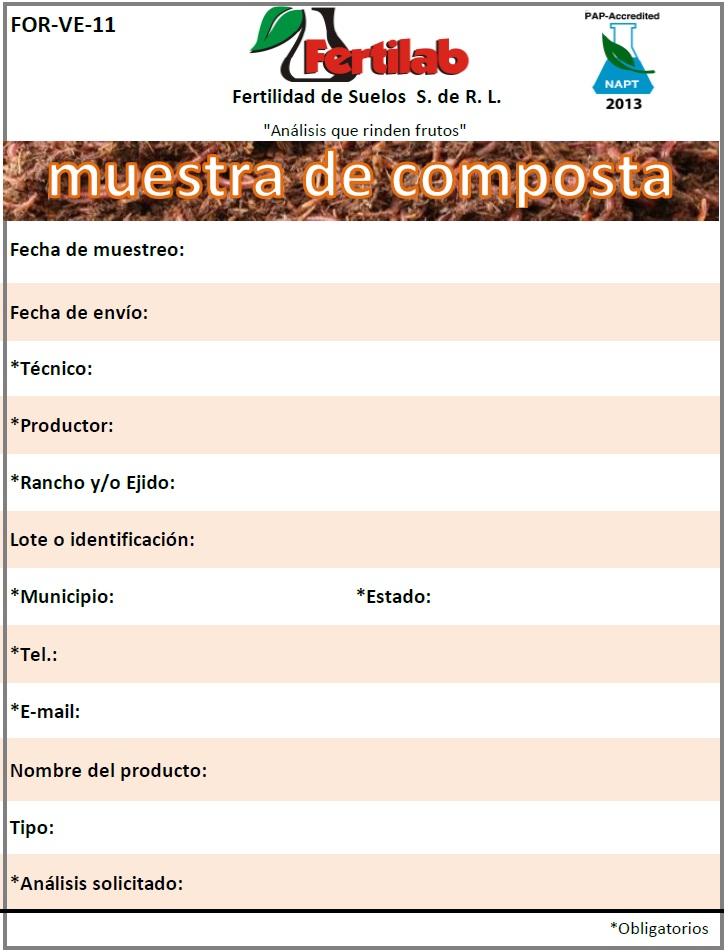 analisis de composta