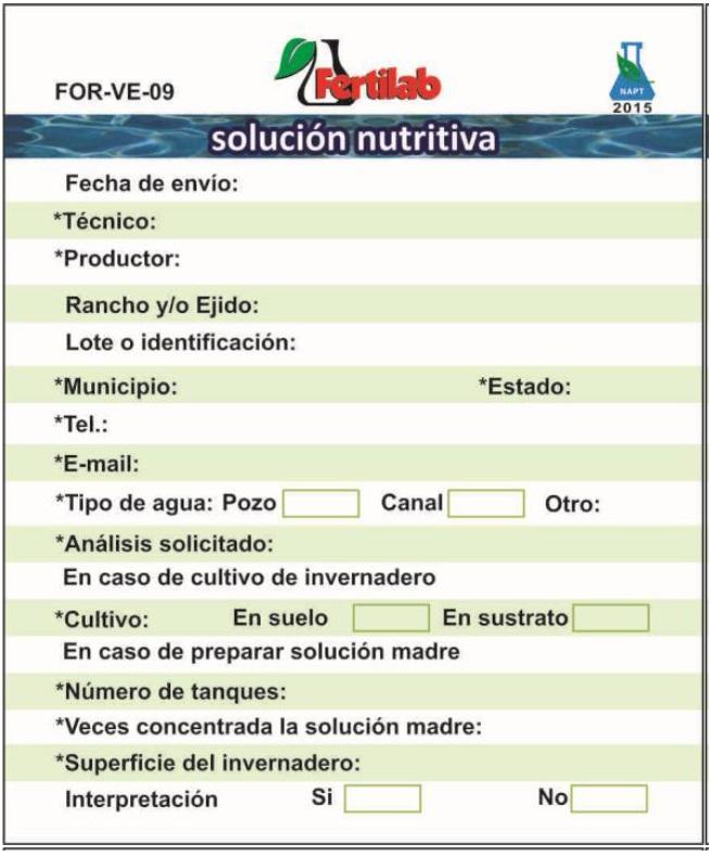 analisis de solucion nutritiva