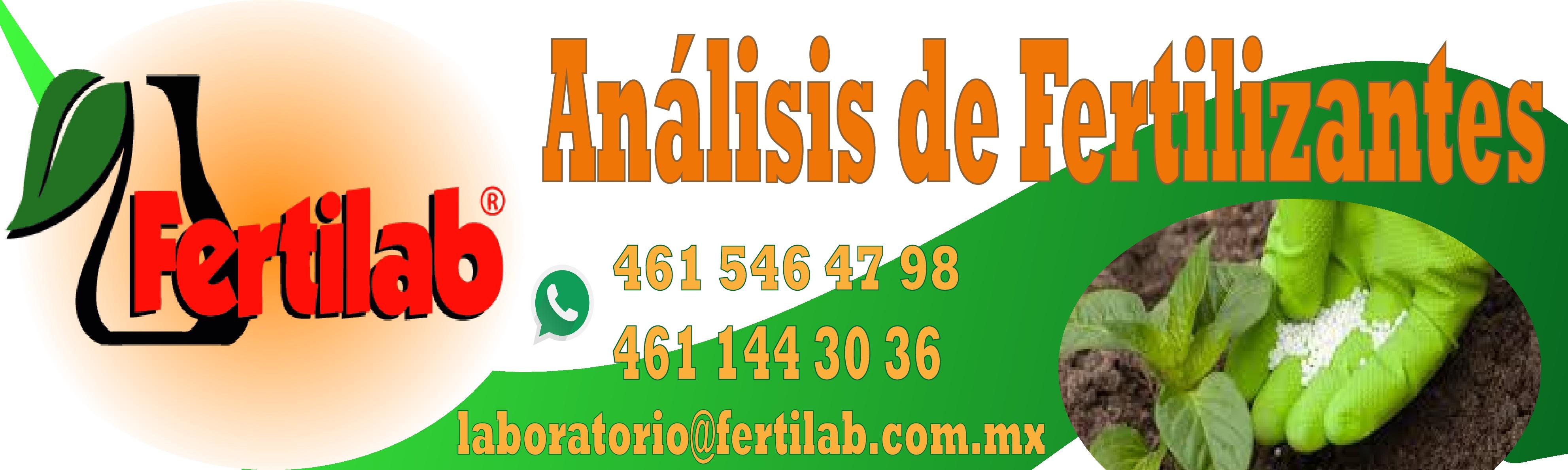 Analisis de fertilizantes